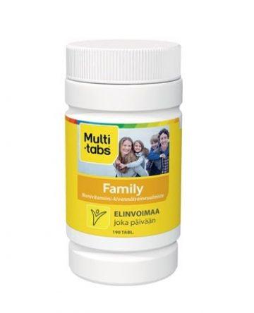 Multitabs Family monivitamiinivalmiste koko perheelle.
